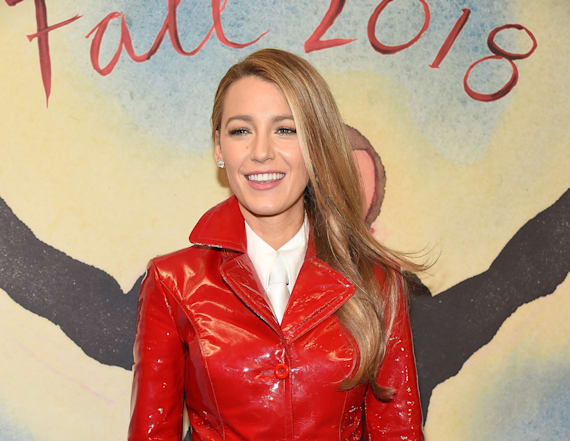 Blake Lively brings back the lampshading trend