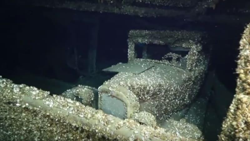 Ran When Barnacled 1927 Chevrolet Found Aboard Sunken Ship Autoblog