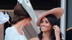 Il linguaggio del corpo di Meghan e Kate rivela amicizia e sottomissione (secondo
