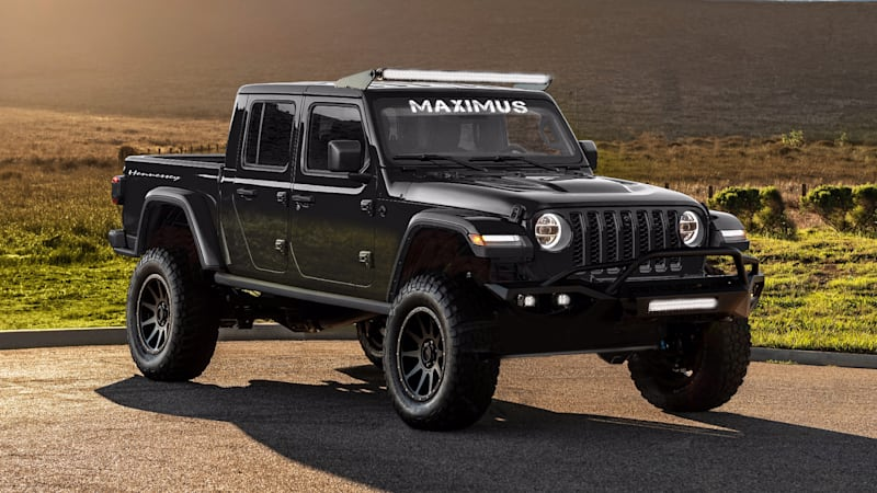 Hennessey Maximus is a 2020 Jeep Gladiator with 1,000