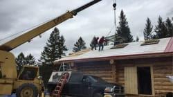 Grandpa Taught Grandsons To Build B.C. Log Cabin In Just 56