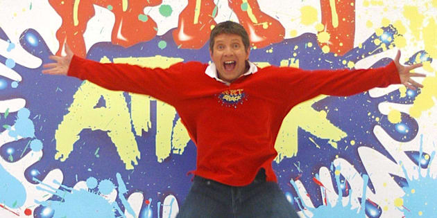 Neil Buchanan fronted 'Art Attack'