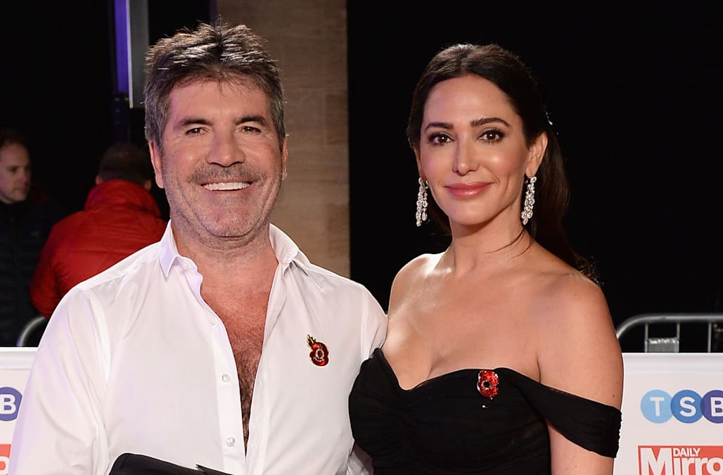 Simon Cowell Makes Rare Red Carpet Appearance With Partner Lauren