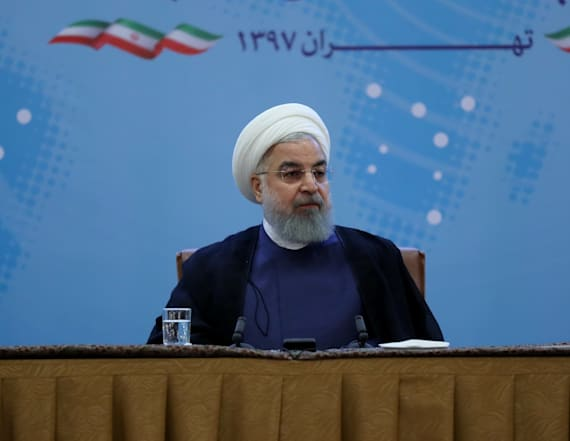 Iran's Rouhani warns Trump on 'mother of all wars'