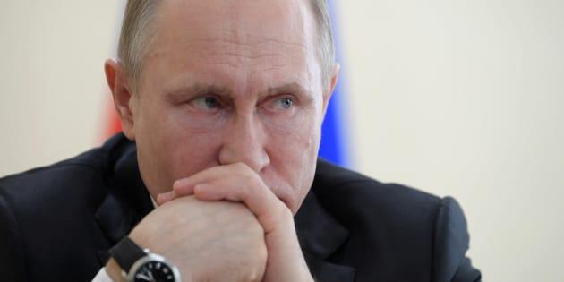 Poutine est au pouvoir depuis 17 ans.