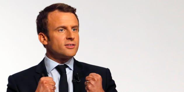 Lundi, s'il est élu, donnons sa chance à Emmanuel Macron