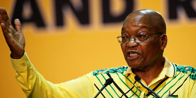 President Zuma at the ANC's 54th national conference last year.