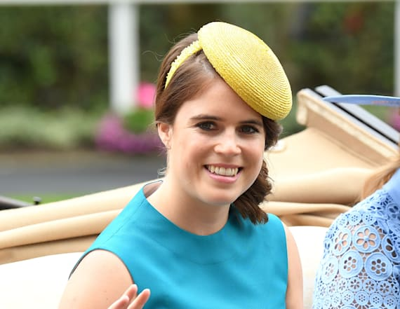 Photos leave many speculating Eugenie is pregnant