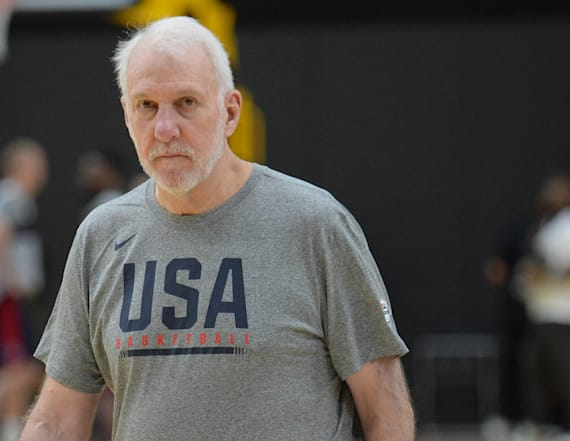 Popovich defends Team USA after rough World Cup