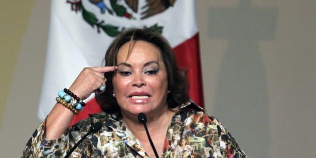 """El 26 de febrero de 2013, La Maestra fue detenida por los delitos de delincuencia organizada y lavado de dinero; hoy 8 de agosto de 2018 quedó """"limpia"""" de cualquier señalamiento."""