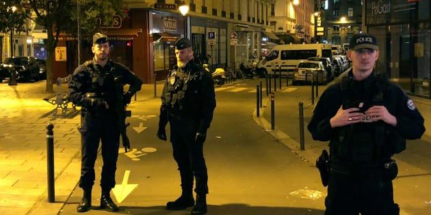 Abdoul Hakim Anaiev, l'ami de l'auteur de l'attaque au couteau à Paris, mis en examen et écroué.
