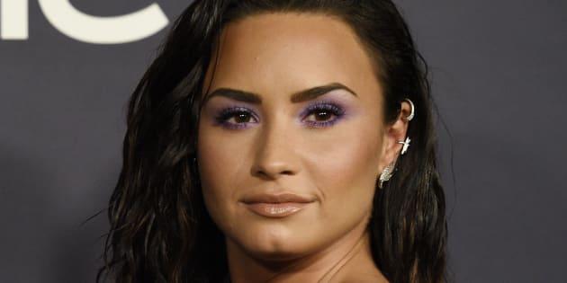 La cantante Demi Lovato, en los premios InStyle el 23 de octubre de 2017 en Los Angeles.