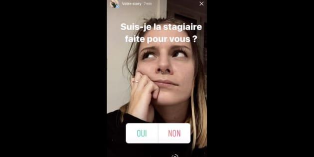 elle cr u00e9e son cv sur instagram  le publie sur linkedin et re u00e7oit des centaines de propositions d