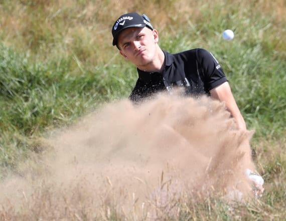 Golfer battled cerebral palsy to reach British Open