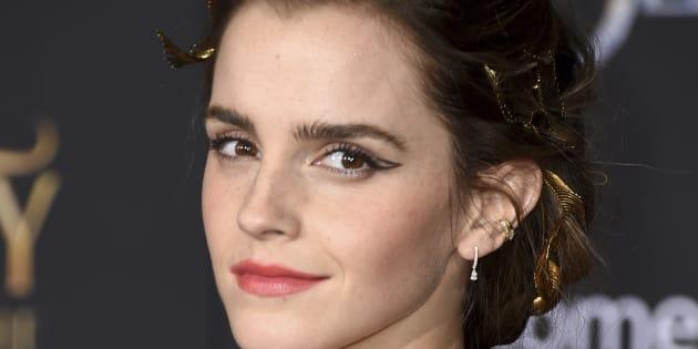 La actriz Emma Watson, en el estreno de 'La Bella y la Bestia' el 2 de marzo de 2017 en Los Angeles.