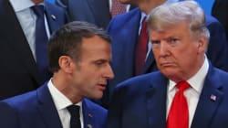 Pour son hommage à George Bush, Macron envoie une pointe à