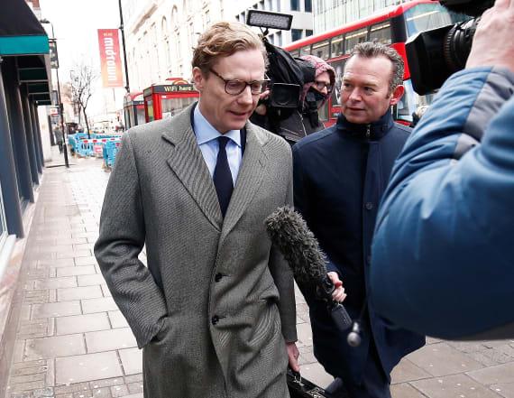 Cambridge Analytica suspends CEO amid data scandal