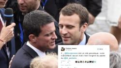 Vrai-faux soutien de Valls à Macron: