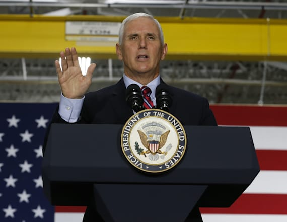 Palestinians to snub Pence during visit