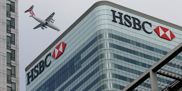 HSBC's headquarters in Canary Wharf, London, U.K. The bank says it will no longer finance new projects in the oilsands.