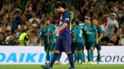 Real Madrid golea al Barcelona en el juego de ida de la