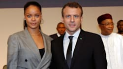 Macron et Rihanna se retrouvent à Dakar après leur rencontre à