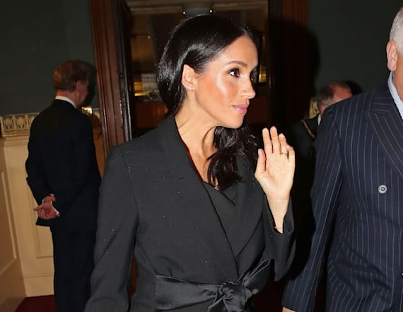 Meghan Markle's tights leave fans confused