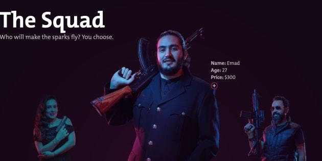 """Au Liban, """"louer"""" une Kalashnikov pour son mariage permet de lutter contre cette tradition dangereuse."""