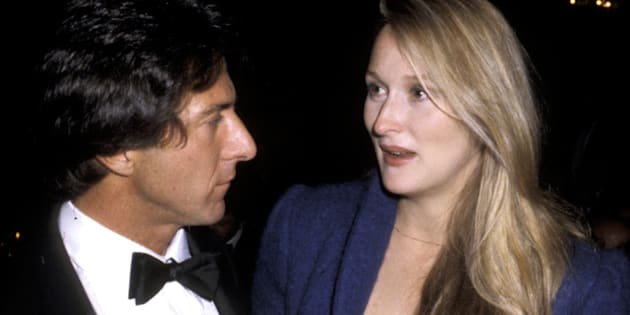 Dustin Hoffman y Meryl Streep.