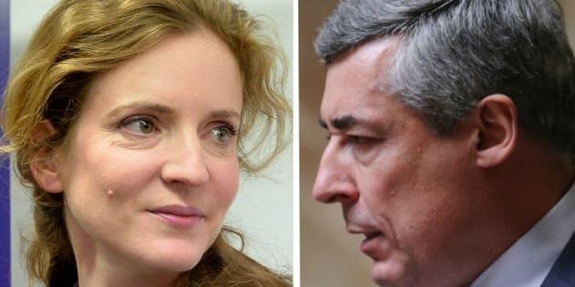 L'ancienne ministre Nathalie Kosciusko-Morizet et le député des Yvelines Henri Guaino.