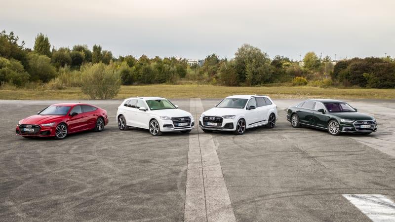 Audi Q5 TFSI e Plug-in Hybrid First Drive, plus Audi A7 and A8 TFSI e