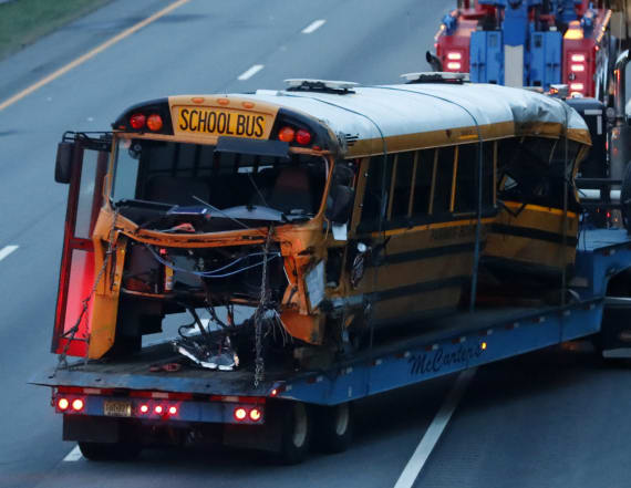 Bus driver charged with causing deaths in NJ crash