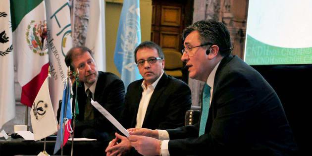 Archivo. Luis Raúl González Pérez, Presidente CNDH