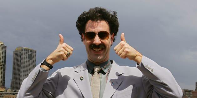 Borat approuve ce message