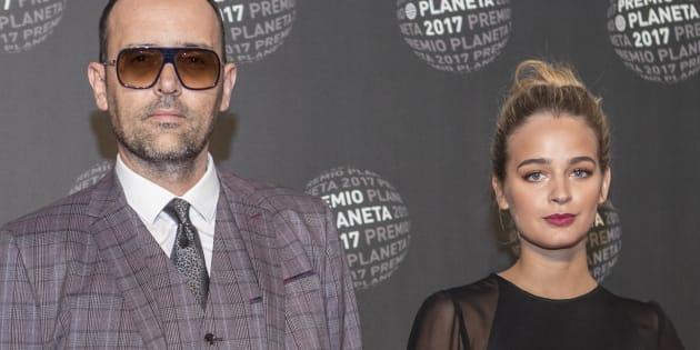Risto Mejide y Laura Escanes, en la entrega de los Premios Planeta 2017.