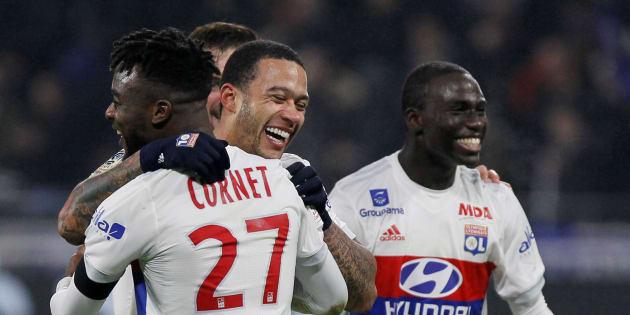 Lyon bat le PSG à la dernière seconde sur un but exceptionnel, ce 21 janvier 2018.