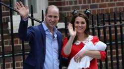 El ¿guiño? de Kate Middleton a Lady Di al presentar a su tercer