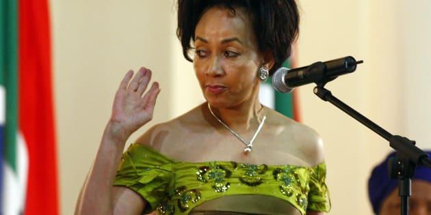 Human Settlements Minister Lindiwe Sisulu.