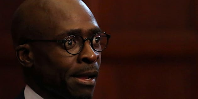 South Africa's new finance minister Malusi Gigaba.