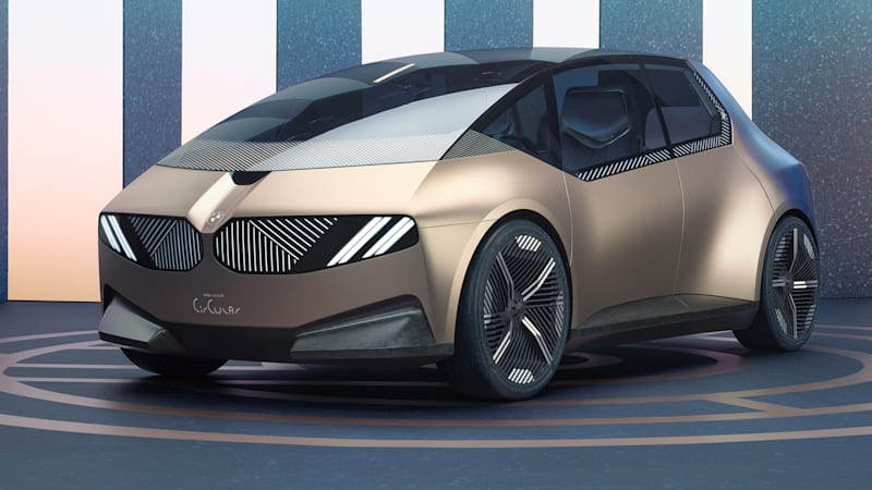 BMW i Vision Circular is a 100% recycled and recyclable hatch