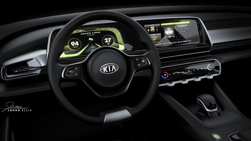 Remember That Kia Concept We Told You About Earlier This Week It S Called Telluride Know Like The Ski Resort Town In Colorado