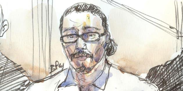 Jawad Bendaoud au tribunal correctionnel de Paris le 24 janvier.