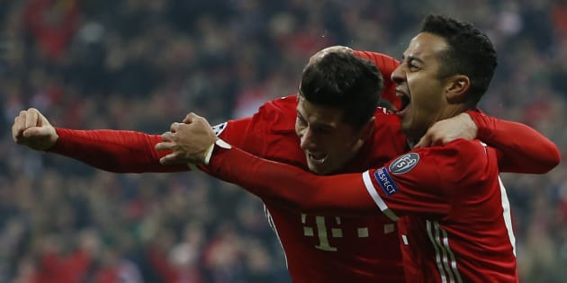 Le Bayern n'a laissé aucune chance à Arsenal et le croque 5-1