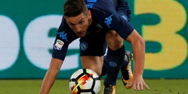 Soccer Football - Serie A - Lazio vs Napoli - Stadio Olimpico, Rome, Italy - September 20, 2017   Napoli's Dries Mertens   REUTERS/Ciro De Luca