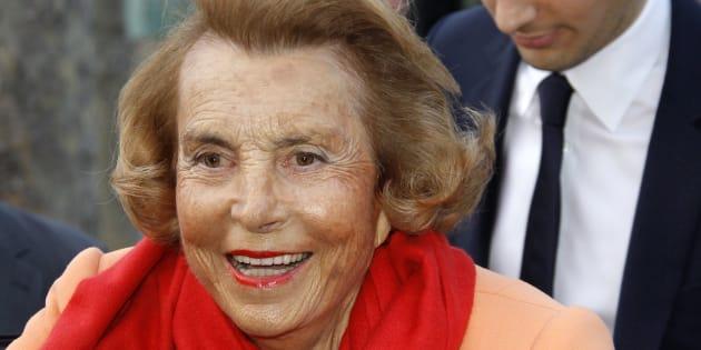 Liliane Bettencourt, femme la plus riche du monde, est morte