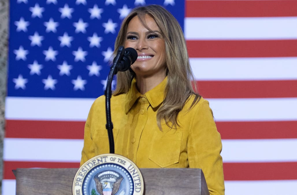 Melania Trump is one of America's 'most admired' women: Gallup poll