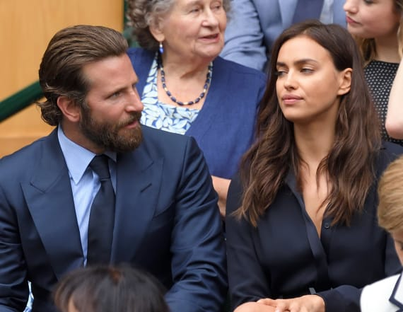 Irina Shayk snapped grabbing Bradley Cooper's butt