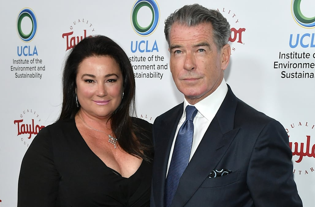 Image result for pierce brosnan and keely shaye smith