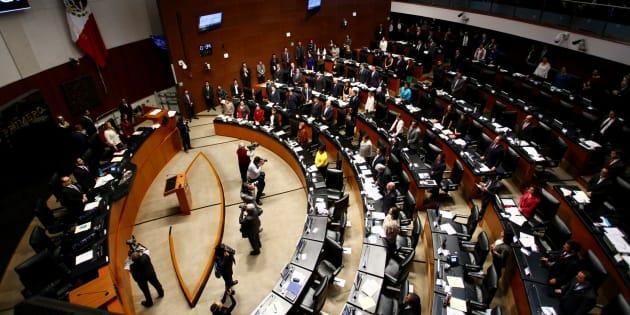 Senado apruba en lo general el dictamen de la Ley Orgánica para la creación de la Fiscalía General de la República.