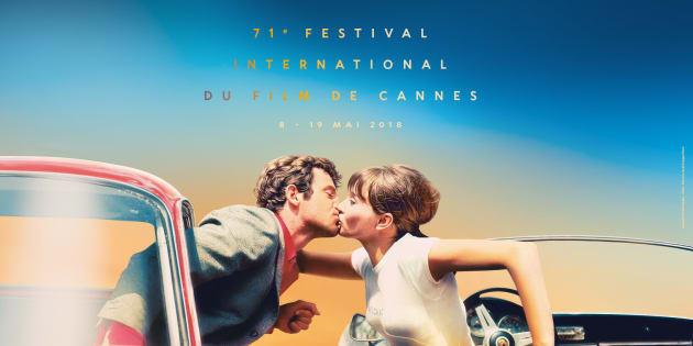 L'affiche du Festival de Cannes.